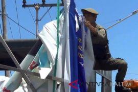 Panwaslu mulai tertibkan baliho-spanduk Pilkada Penajam