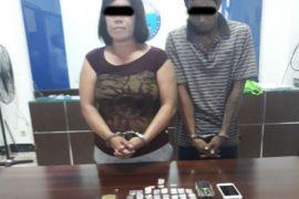 BNNK Samarinda tangkap pasutri pemasok narkoba ABK tugboat