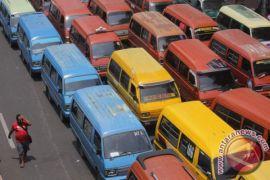 Sopir angkot Samarinda mogok massal tolak transportasi daring