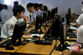 2.477 murid SMP/MTs Penajam ikuti UNBK