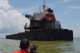 Pushidrosal ungkap fakta penyebab tumpahan minyak di Teluk Balikpapan