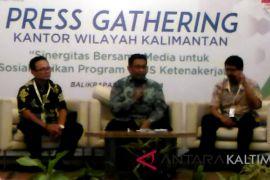 3,4 juta pekerja se-Kalimantan belum terdaftar BPJS-TK