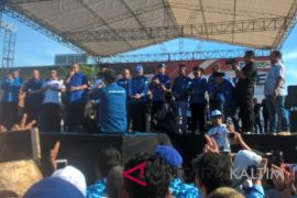 Hadiri kampanye Jaang-Ferdi, SBY saksikan simulasi pencoblosan