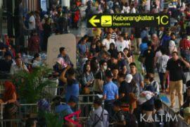 Arus mudik - Pergerakan pesawat di Soekarno-Hatta tumbuh 4,5 persen