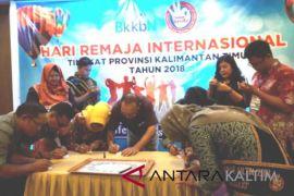 Peringati hari remaja Internasional  BKKBN Kaltim gelar workshop