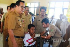 Pejabat Bupati Penajam minta vaksinasi campak-Rubella dilanjutkan