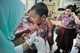 Vaksinasi Campak-Rubella di Penajam capai 65 persen