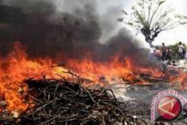 Kebakaran lahan susulan berpotensi terjadi di Desa Giripurwa