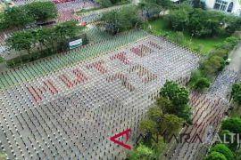 Tari Gemu Fa Mi Re di Samarinda pecahkan Rekor MURI