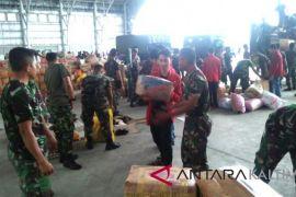 Paser  galang  bantuan  korban gempa di Palu