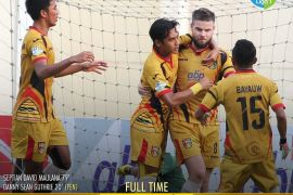 Mitra Kukar Bawa 22 Pemain Sambangi Sriwijaya FC