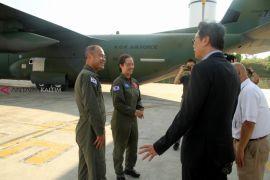 Korea Selatan Sumbang Tenda dan Pinjami 2 Hercules
