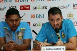 Bhayangkara targetkan kemenangan atas Borneo