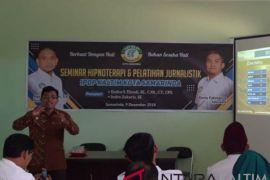 IPDP Kota Samarinda Gelar Seminar Hipnoterapi dan Jurnalistik