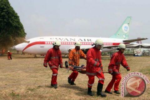 Bandara SAMS Sepinggan gelar latihan penanganan darurat skala besar