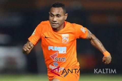Borneo akhiri paceklik kemenangan berkat dua gol Tibo