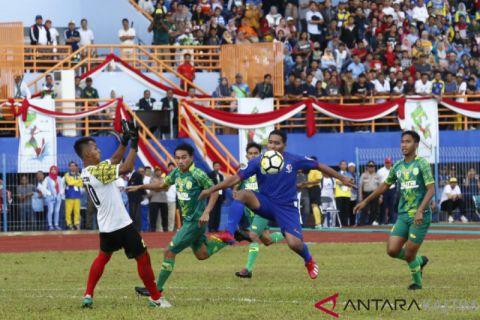 Tekuk Kukar, Kutim Jawara Sepakbola  Sempurnakan Juara Umum