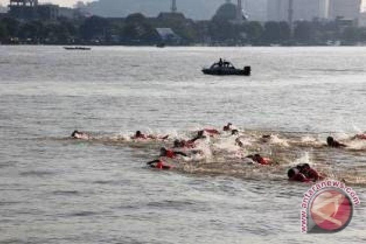 Festival Mahakam Gelar Lomba Renang Lintas Sungai