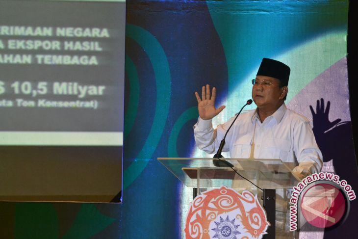 Prabowo siap terima mandat sebagai capres