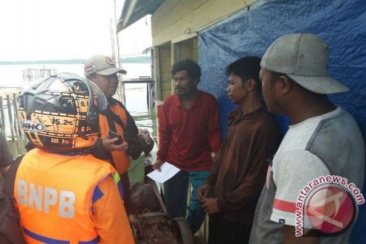 Empat Nelayan Penajam Sempat Hilang Ditemukan Selamat