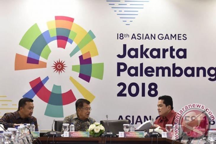 Wapres: Target Asian Games Tetap Sepuluh Besar