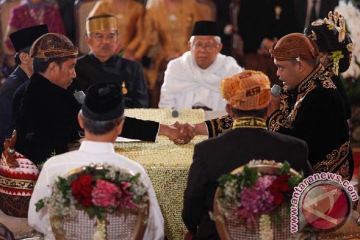 Pernikahan Putri Presiden