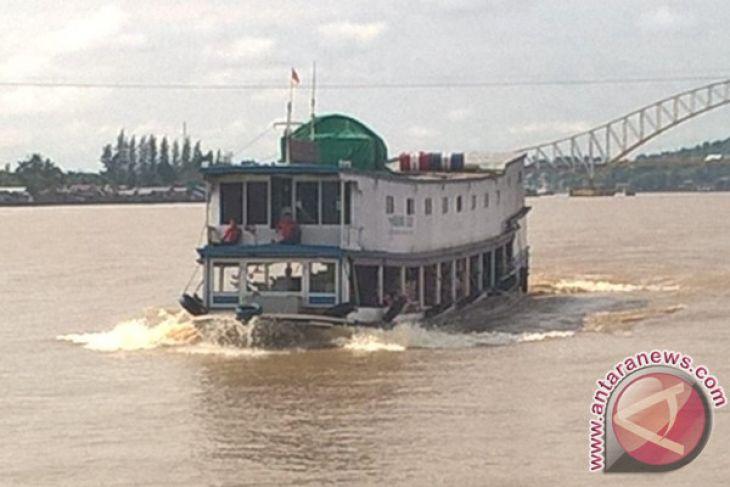 Kapal Penumpang Rute Samarinda-Mahulu Masih Diminati Warga