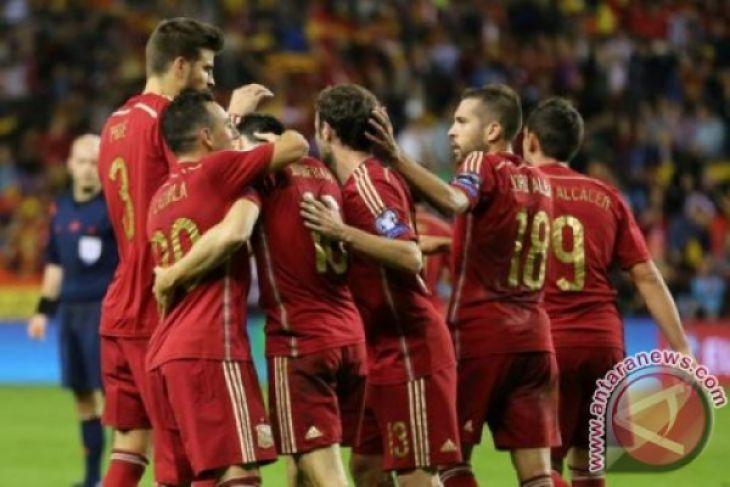 Spanyol padukan pemain muda dan berpengalaman di Piala Dunia