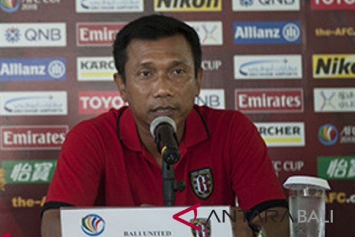 Bali United kalah, Widodo enggan salahkan pemain