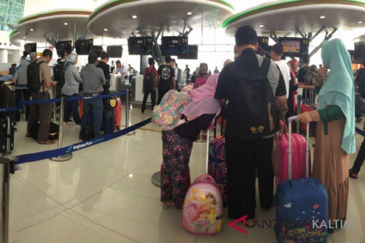 Puncak arus balik melalui Bandara Sepinggan diperkirakan 18 Juni