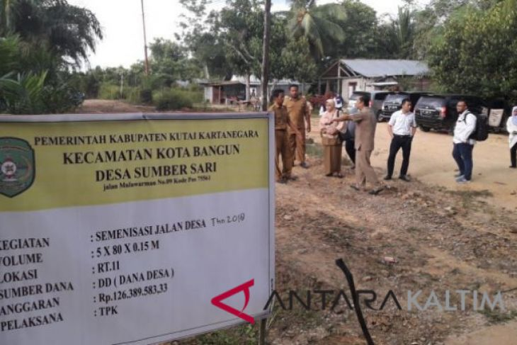 DPMPD Kaltim tinjau serapan dana desa di Kukar