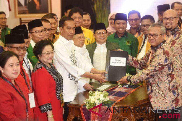 Pendaftaran Bakal Capres Jokowi-Ma'ruf