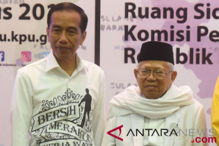 Jokowi ajak masyarakat ciptakan Pilpres 2019 penuh kegembiraan