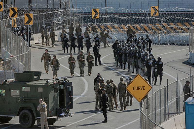 AS kirim 3.000 tentara ke perbatasan Meksiko