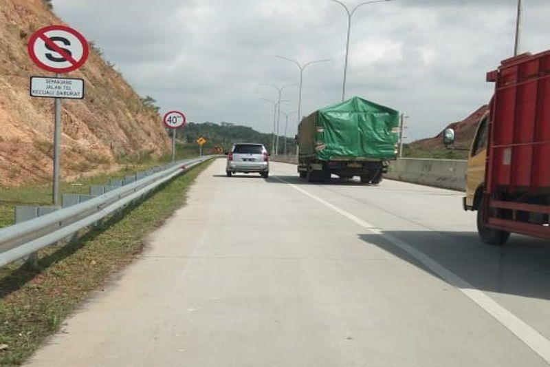 Sopir truk sambut baik dioperasikannya Tol Trans Sumatera ruas Bakauheni-Terbanggi Besar