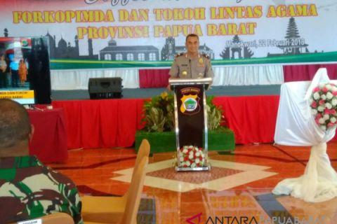 Polda Papua Barat Waspadai Penyebaran Paham Radikal