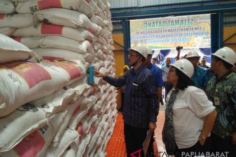 Produksi beras Papua Barat masih rendah