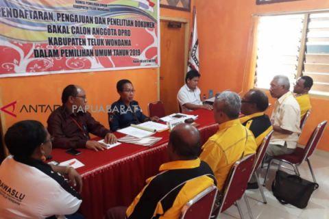 KPU kembalikan berkas pencalonan Golkar Wondama