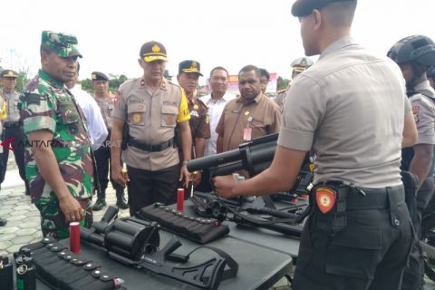 Mantap Brata Papua Barat libatkan 9.000 personil