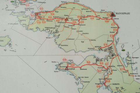 Pemprov Papua Barat bangun jalan sejumlah kabupaten