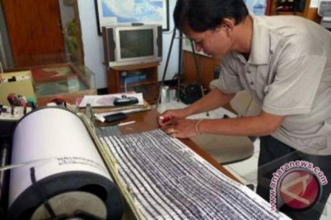 Manokwari diguncang gempa 4,3 SR tidak berpotensi tsunami
