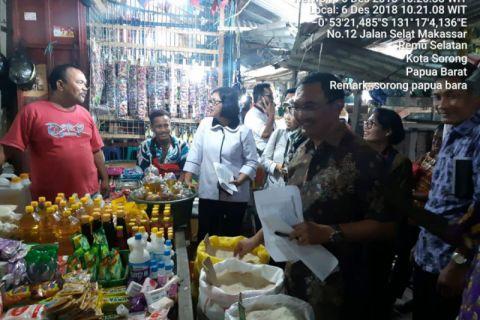 Kemendag gelar operasi pasar di Sorong