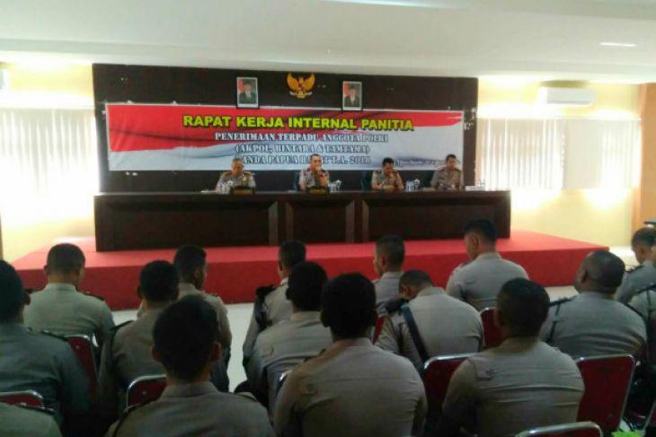Penerimaan Anggota, Polda Papua Barat Prioritas Kapolri