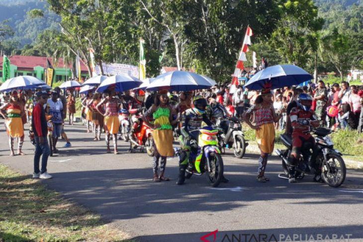 Puluhan Pembalap Berebut Juara Nasioal Motorprix di Wondama