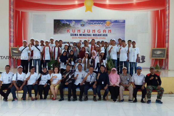 Siswa Mengenal Nusantara Kunjungi Polteknik Kelautan Perikanan Sorong