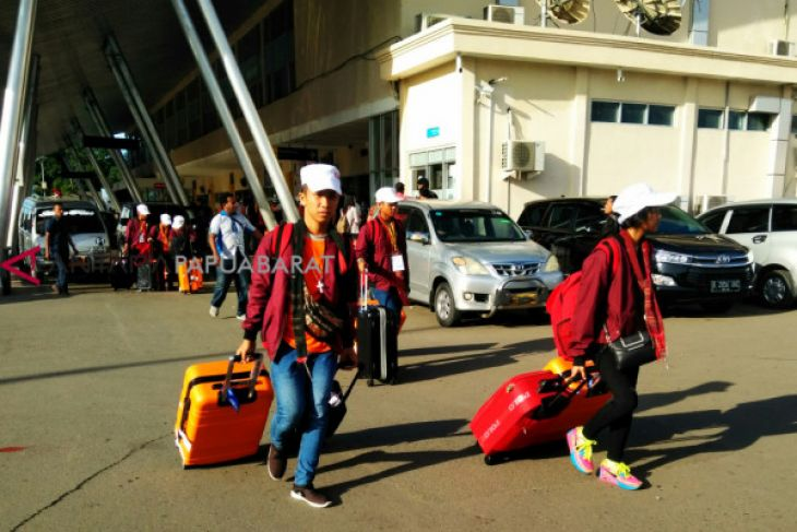 Rombongan SMN Sumatera Utara tiba di Manokwari