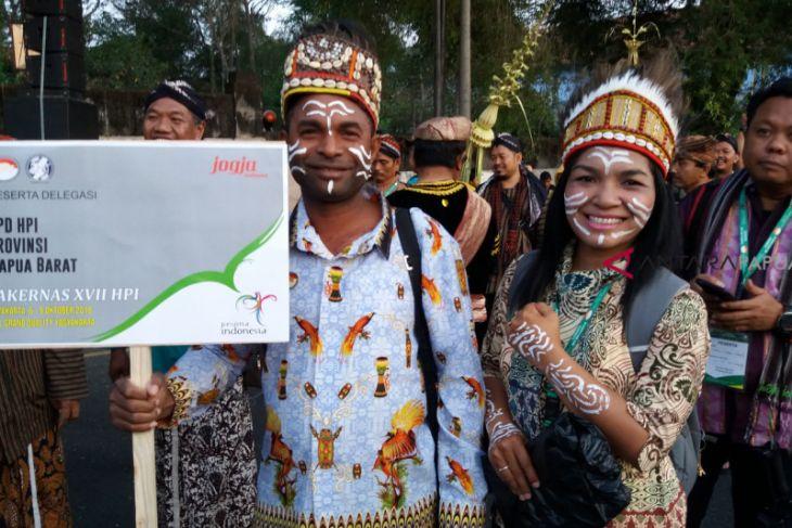 HPI Papua Barat Hadiri Rakernas di Yogyakarta