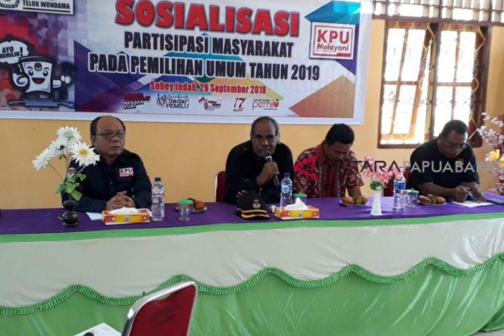 KPU Wondama ajak masyarakat cermati DPT