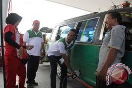 Pertamina Launching Penjualan BBM Pertalite di Asahan