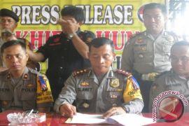 2015 Kasus Kriminal di Tebingtinggi Menurun 15 Persen